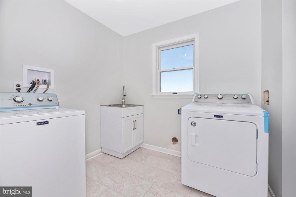 Washer/Dryer  Room - 6156 WOODVILLE RD, MOUNT AIRY