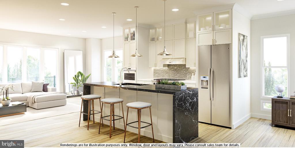 Newbrook Kitchen Disclaimer - 4613 QUINNS MILL WAY, CHANTILLY