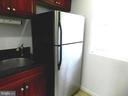 Kitchen granite and stainless steel refrigerator - 2504 22ND ST NE #6, WASHINGTON