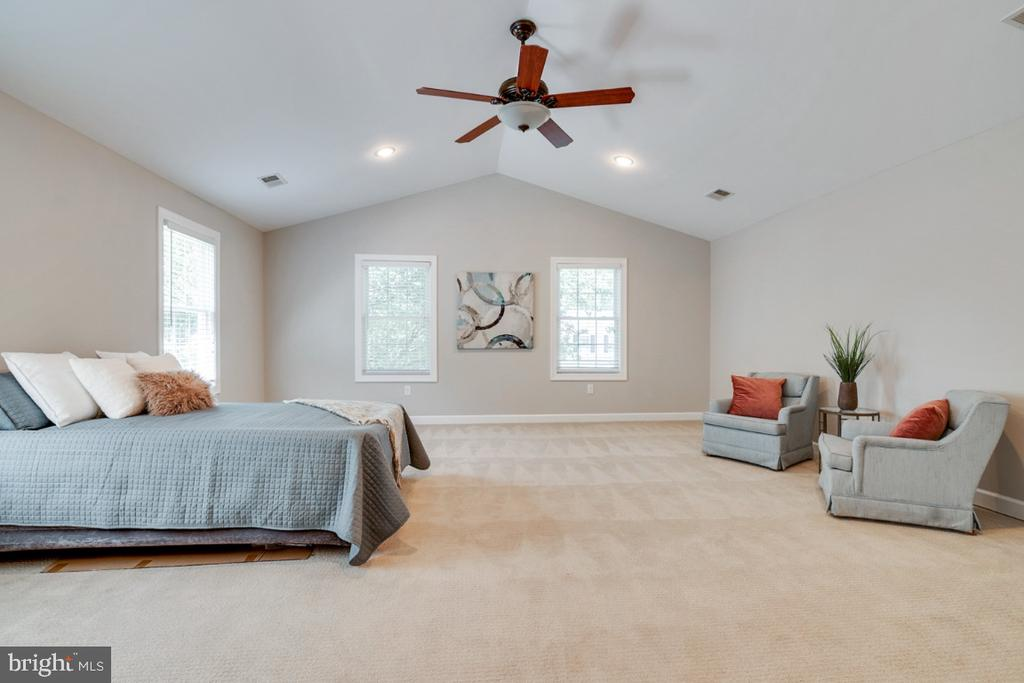 Vaulted ceilings - 14422 WILLIAM CARR LN, CENTREVILLE