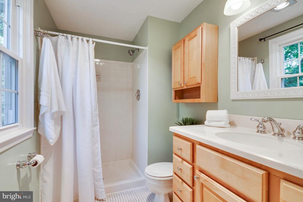 2nd master bedroom en-suite bathroom - 14422 WILLIAM CARR LN, CENTREVILLE