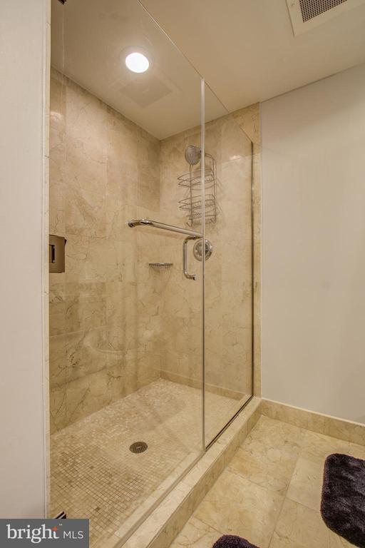Master bath with walk in shower - 912 F ST NW #408, WASHINGTON