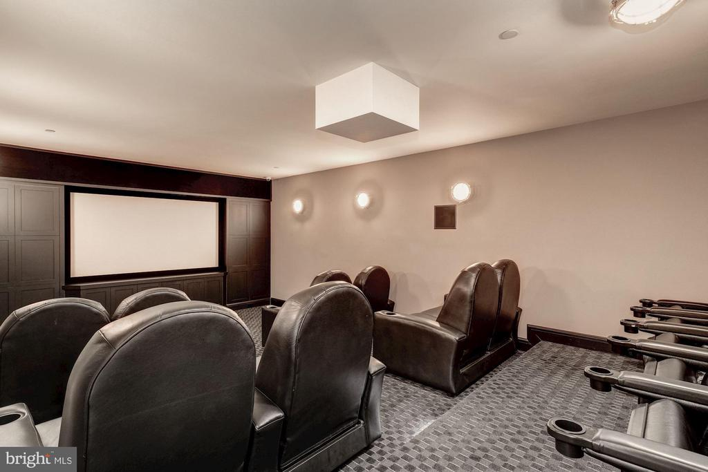 Home Theater - 2101 DUNMORE LN NW, WASHINGTON