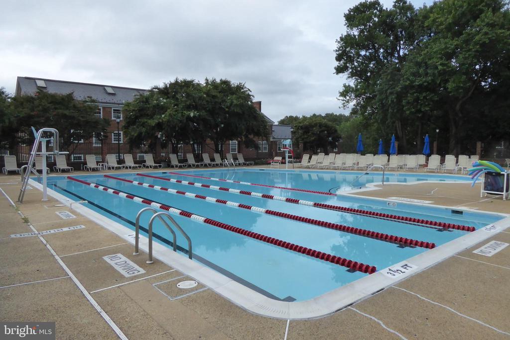Community pool - 3720 39TH ST NW #A163, WASHINGTON