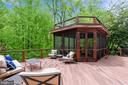 Deck: complete with screened in oasis - 11329 STONEHOUSE PL, POTOMAC FALLS