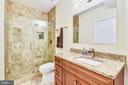 Lower Level Full Bath - 11329 STONEHOUSE PL, POTOMAC FALLS
