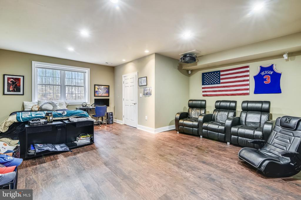 Theater Room - 11329 STONEHOUSE PL, POTOMAC FALLS