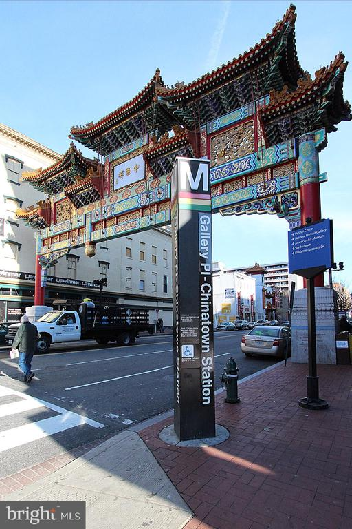 Short walk to Chinatown/Gallery Place Metro - 912 F ST NW #408, WASHINGTON