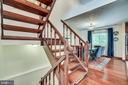 Stairs - 8364 ROCKY FORGE CT, SPRINGFIELD