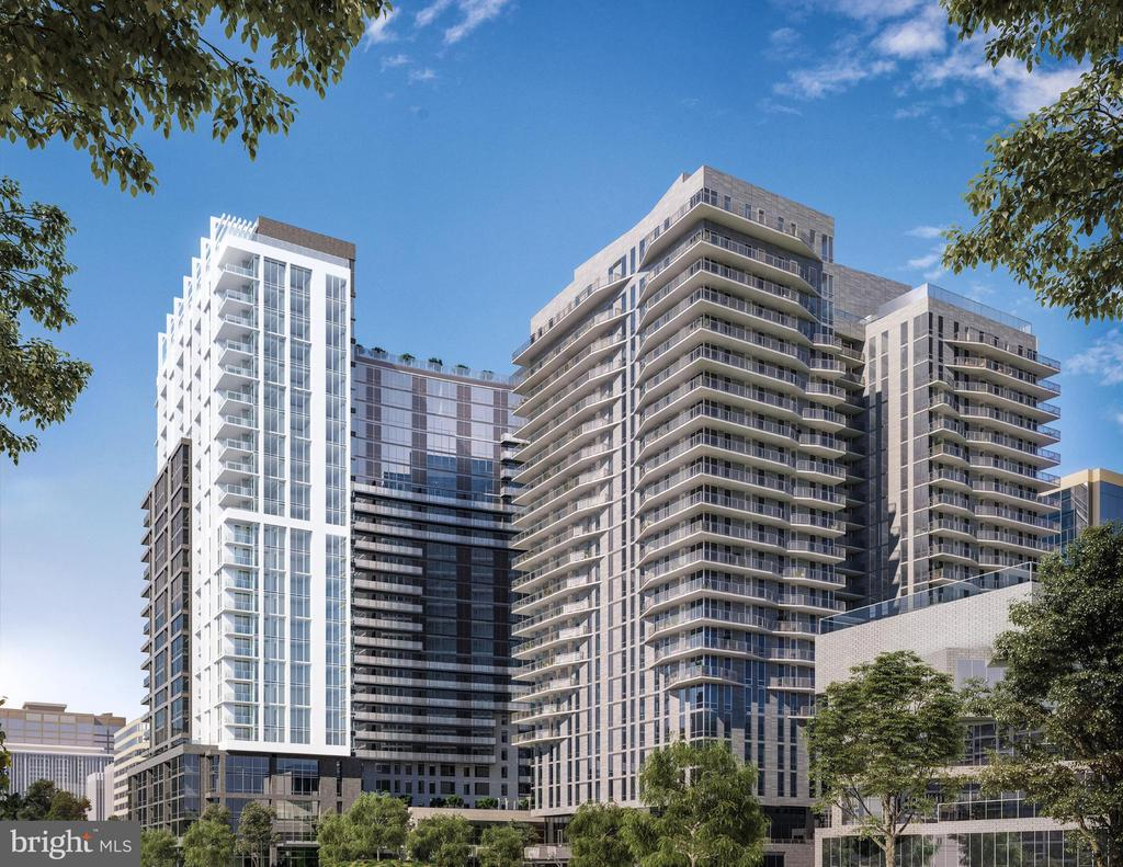 Stunning 27 story Hicock Cole designed building. - 1781 PIERCE ST N #305, ROSSLYN