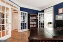 ...french doors w/transoms to sunroom & family rm - 11594 CEDAR CHASE RD, HERNDON