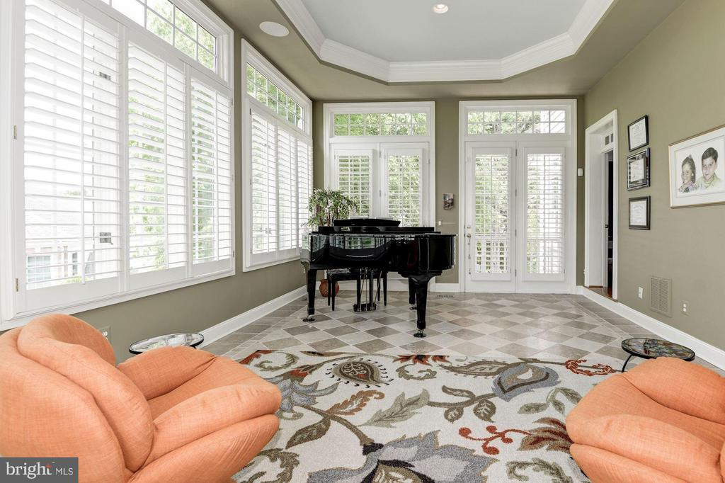 and another elegant tray ceiling. - 11594 CEDAR CHASE RD, HERNDON