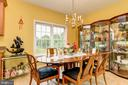 Dining Area in In-Law Suite - 13701 MOUNT PROSPECT DR, ROCKVILLE
