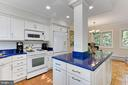 Loads of counter space - a chef's delight! - 3384 GUNSTON RD, ALEXANDRIA