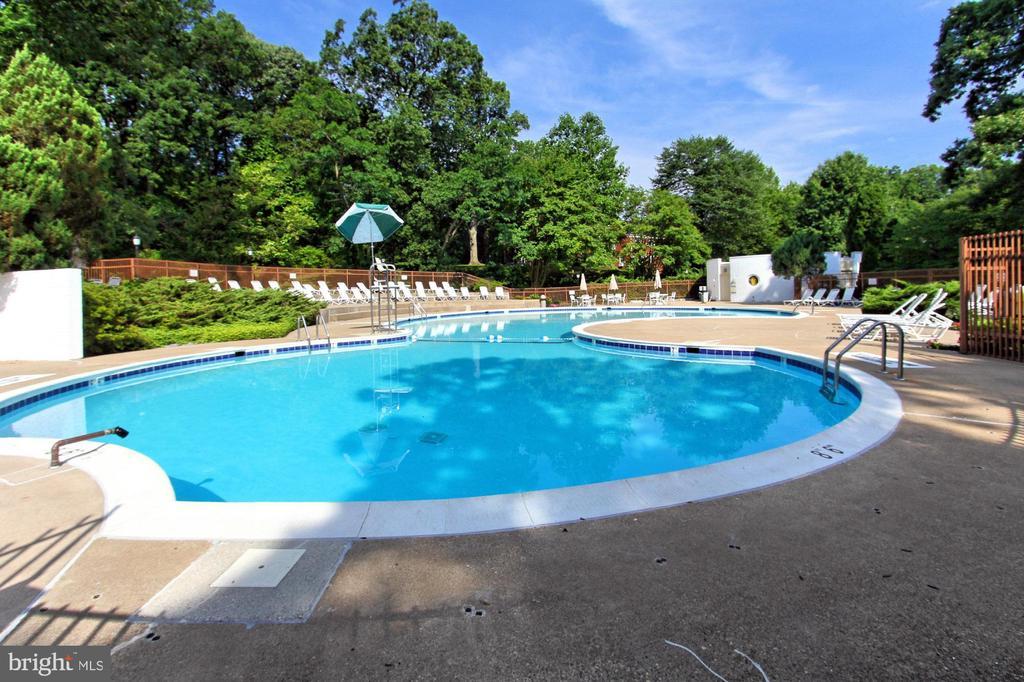 Enjoy one of three community pools! - 3384 GUNSTON RD, ALEXANDRIA