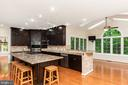 Kitchen opens to Breakfast Room - 1515 JUDD CT, HERNDON