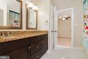Dual Entry Bath between Bedroom 2 & 3 - 1515 JUDD CT, HERNDON