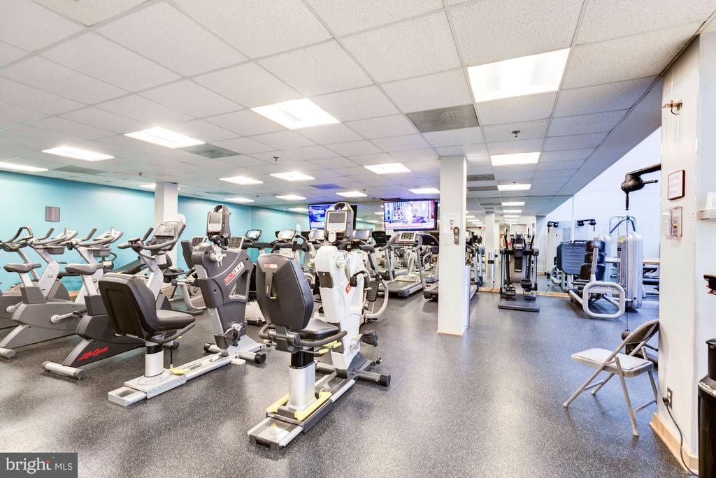Fitness Center - 5610 WISCONSIN AVE #304, CHEVY CHASE