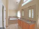 Master bathroom left view - 6905 RANNOCH RD, BETHESDA