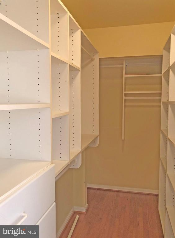 Master bedroom walk-in closet #2 - 6905 RANNOCH RD, BETHESDA