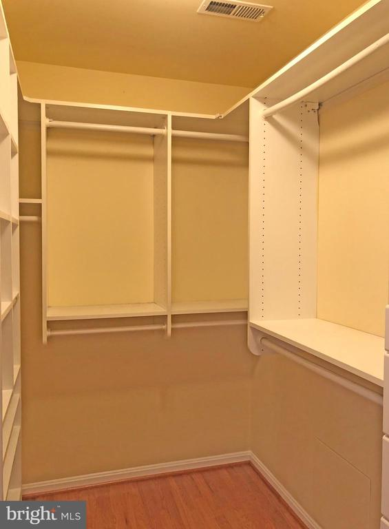 Master bedroom walk-in closet #1 - 6905 RANNOCH RD, BETHESDA