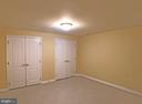 Basement sleeping area #1 - 6905 RANNOCH RD, BETHESDA