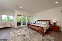 Master Bedroom w/ Balcony - 40850 ROBIN CIR, LEESBURG