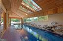 Indoor Pool w/ Skylights & Waterfall - 40850 ROBIN CIR, LEESBURG