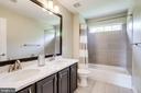 Hallway Bathroom - 43226 KATHLEEN ELIZABETH DR, ASHBURN