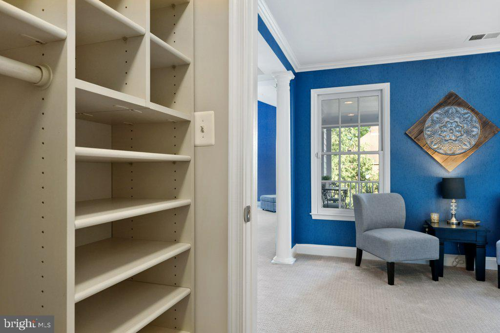 Two large walk-in closets - 405 S HENRY ST, ALEXANDRIA