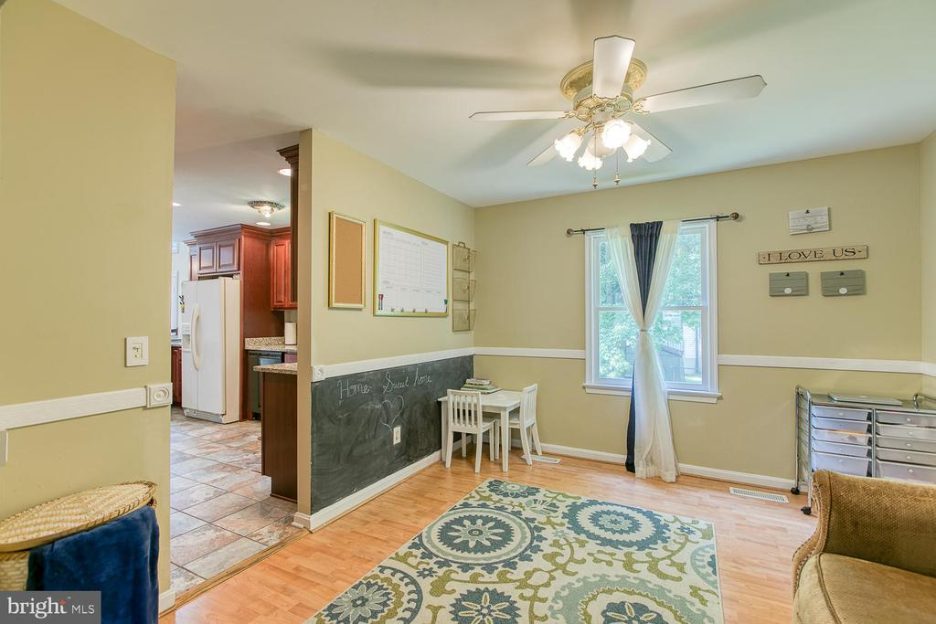 Dining Rm used as kids play room - 11018 ABBEY LN, FREDERICKSBURG
