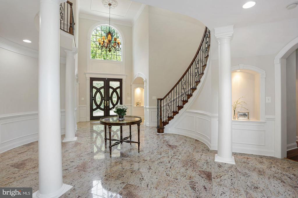 Custom detailing and millwork throughout! - 11418 WAPLES MILL RD, OAKTON