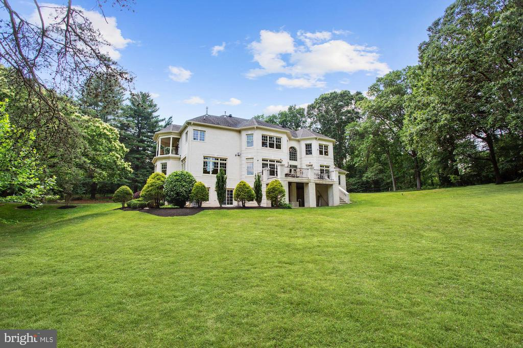 Private and lush yard - 11418 WAPLES MILL RD, OAKTON