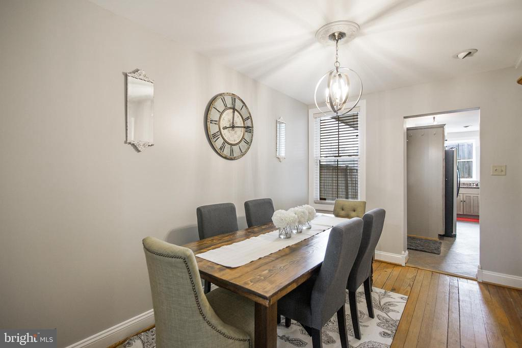 Dining Area - 442 W SOUTH ST, FREDERICK