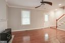Open living area - 5715 7TH ST N, ARLINGTON