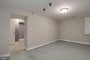 Open room in the basement - 5715 7TH ST N, ARLINGTON