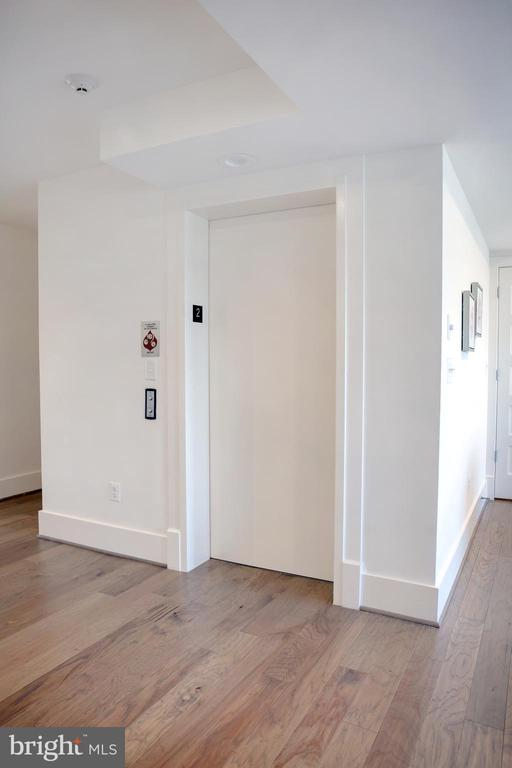 Direct Elevator Access to Unit 201 - 645 MARYLAND AVE NE #201, WASHINGTON