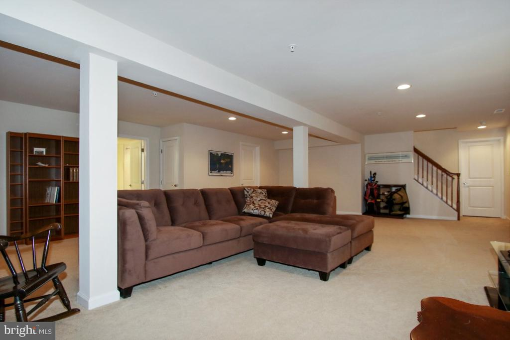 Lots of room in the finished basement - 3006 OLD ANNAPOLIS TRL, FREDERICK