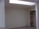 Bedroom 2 with skylight - 13409 SHADY KNOLL DR #313, SILVER SPRING