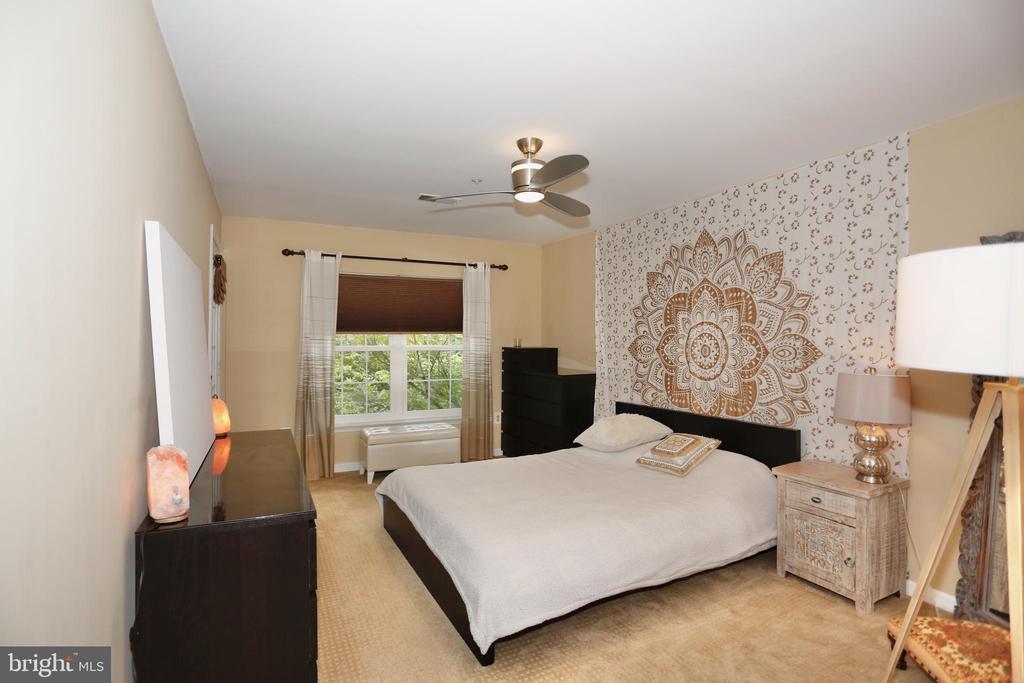 Main level master bedroom - 415 RIDGEPOINT PL #32, GAITHERSBURG