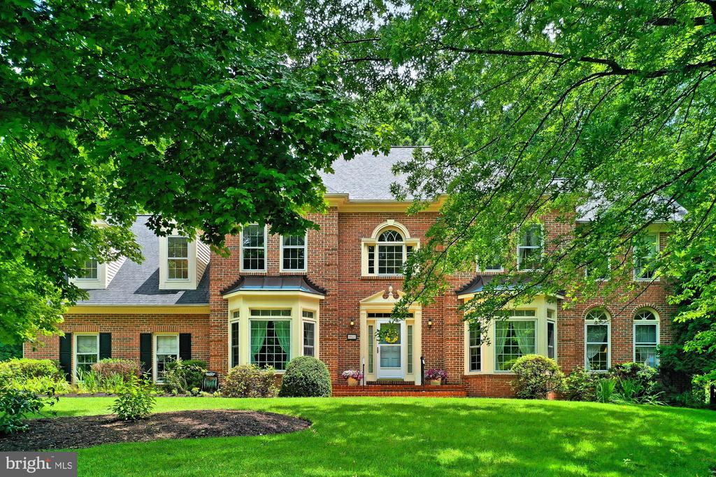 Front - 6603 OKEEFE KNOLL CT, FAIRFAX STATION