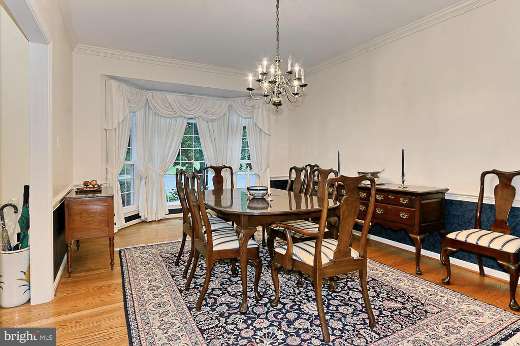 Dining Room - 6603 OKEEFE KNOLL CT, FAIRFAX STATION