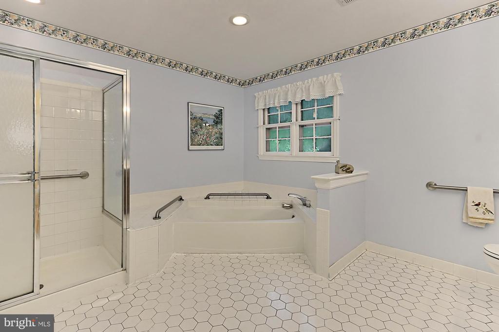Master Bath - 6603 OKEEFE KNOLL CT, FAIRFAX STATION