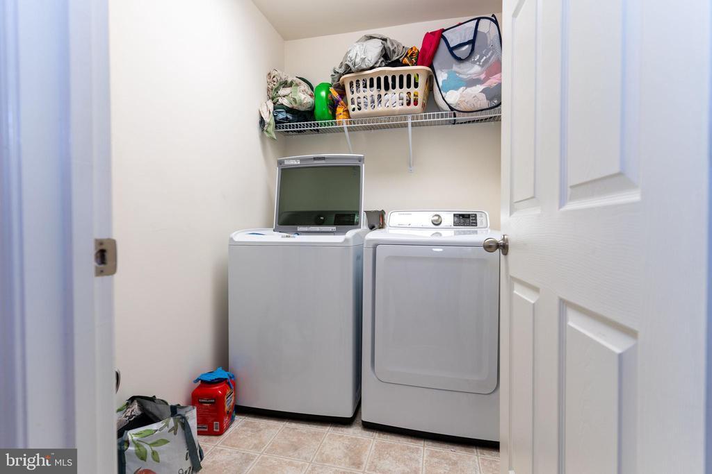 Laundry on Upper Level - 18226 JILLIAN LN, TRIANGLE