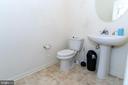 Main Floor Half Bath - 18226 JILLIAN LN, TRIANGLE