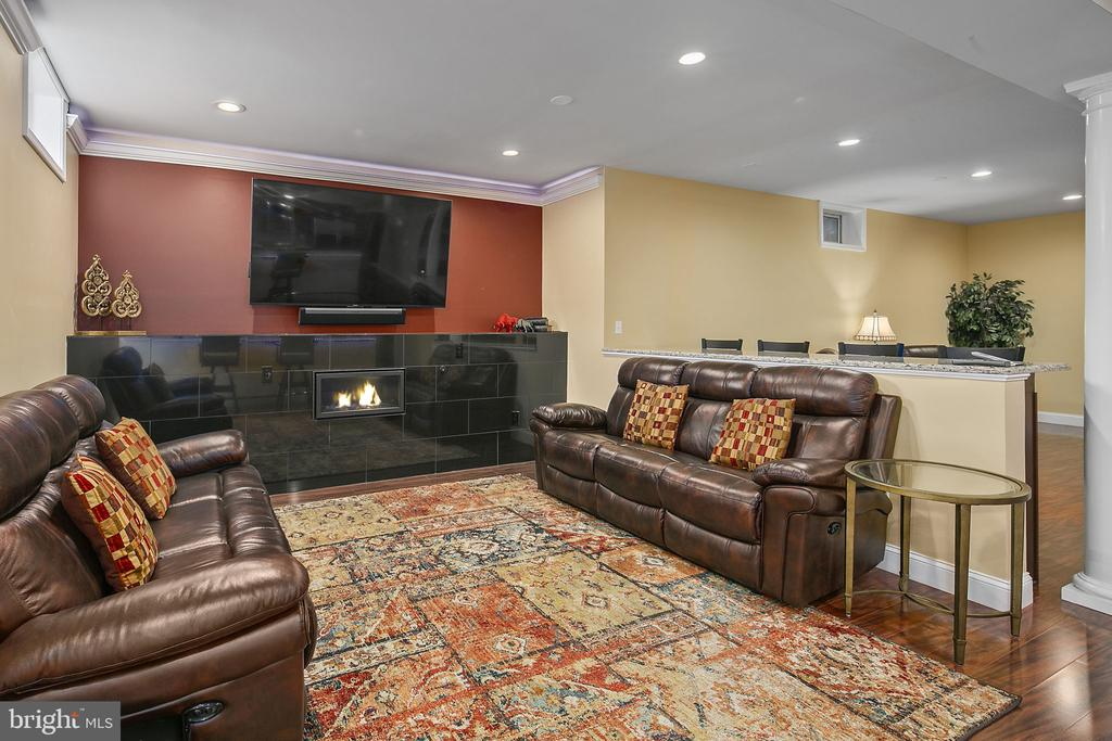 Fun space with fireplace - 43474 OGDEN PL, STERLING