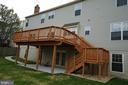 Another view of deck and patio - 6311 WILLOWFIELD WAY, SPRINGFIELD