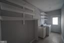 Laundry Room w/NEW porcelain flooring - 6311 WILLOWFIELD WAY, SPRINGFIELD