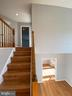 Stairway with NEW hardwood steps - 6311 WILLOWFIELD WAY, SPRINGFIELD