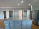 Kitchen View 4 with NEW island and cabinets - 6311 WILLOWFIELD WAY, SPRINGFIELD